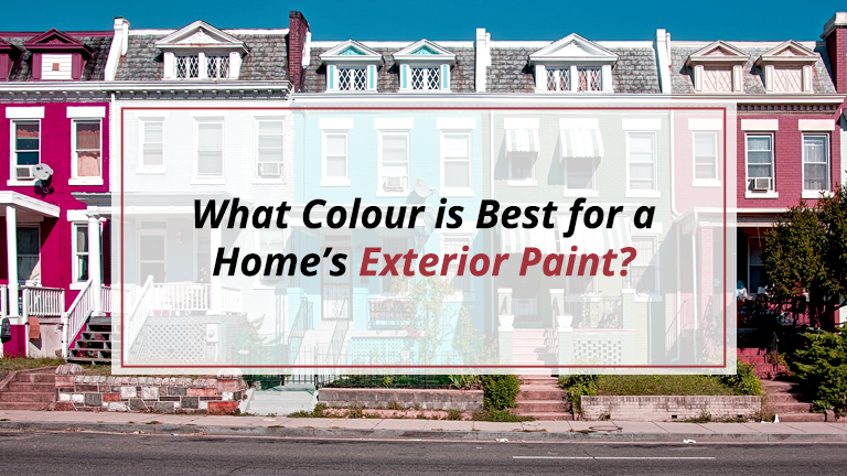 What Colour is Best For a Home's Exterior Paint?