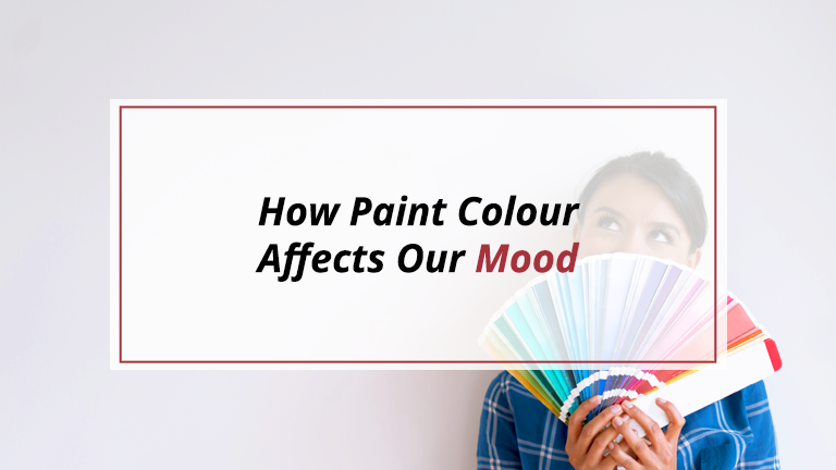 How Paint Colour Affects Mood
